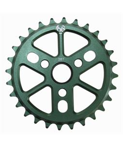 Hoffman Dinky 6061 Alloy Sprocket Green 28T