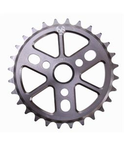 Hoffman Dinky 6061 Alloy Sprocket Smoke Nickel 28T