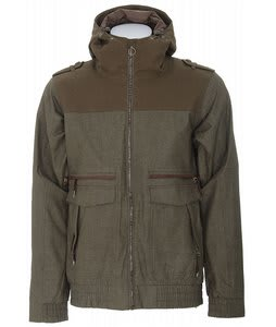 Holden Dischord Snowboard Jacket Dark Olive