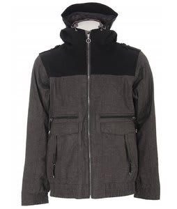 Holden Dischord Snowboard Jacket Charcoal Melange/Black