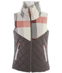 Holden Absolute Vest Bone Plaid/Flint