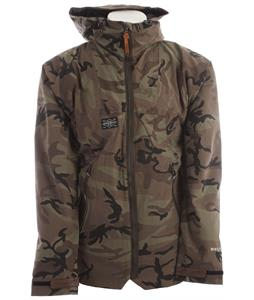 Holden Altitude Snowboard Jacket Camo