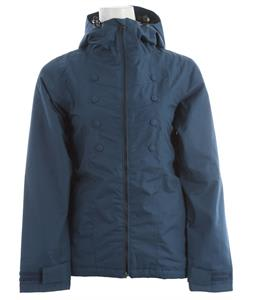 Holden Band Snowboard Jacket Thunderstorm Blue