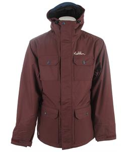 Holden Basin Snowboard Jacket Black Plum