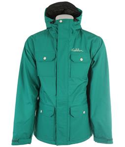 Holden Basin Snowboard Jacket Ultramarine Green