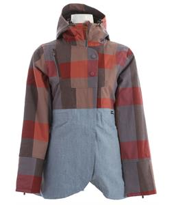 Holden Bessette Snowboard Jacket Blue Plaid/Chambray