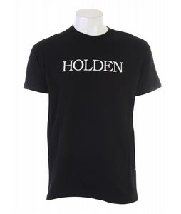 Holden Bookman Logo T-Shirt Black