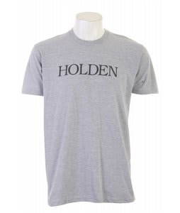Holden Bookman Logo T-Shirt Heather Grey