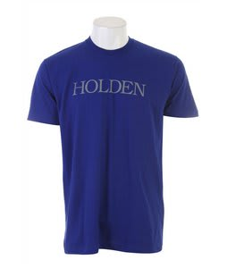Holden Bookman Logo T-Shirt Royal Blue