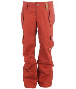 Holden BT Cargo Snowboard Pants Burnt Henna