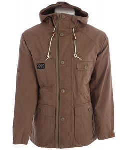 Holden Camden Jacket Dark Khaki