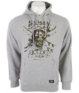 Holden Camo Snow Skull Hoodie Grey Heather