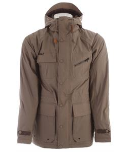 Holden Caravan Snowboard Jacket Dark Khaki