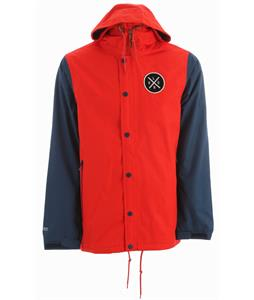 Holden Coaches Snowboard Jacket Cardinal Red/Thunderstorm Blue