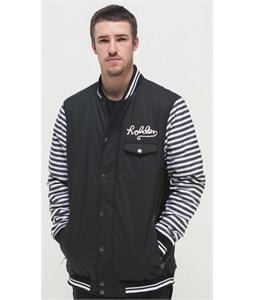 Holden Coaches Snowboard Jacket Black/Bw Stripe