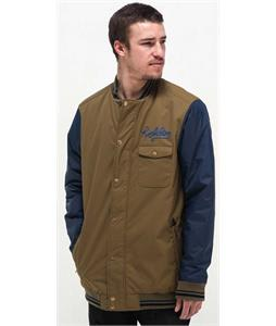 Holden Coaches Snowboard Jacket Olive/Peacoat