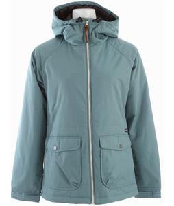 Holden Ella Insulated Snowboard Jacket Oil Blue
