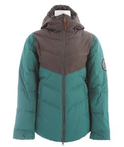 Holden Estelle Down Snowboard Jacket Flint/Emerald