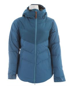 Holden Estelle Down Snowboard Jacket Pacific Blue