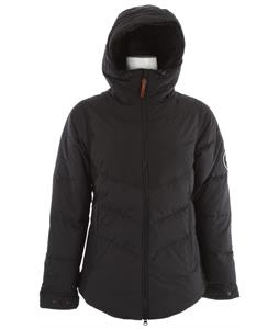 Holden Estelle Down Snowboard Jacket Black/Black