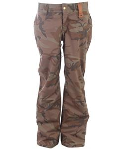 Holden Factory Snowboard Pants Camo