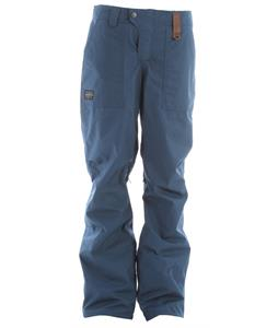 Holden Field Snowboard Pants Thunderstorm Blue