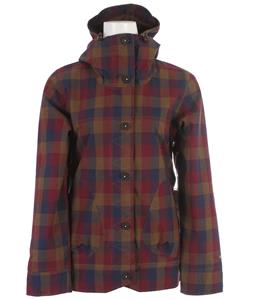 Holden Fiona Snowboard Jacket Black Plaid