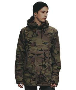 Holden Fishtail Snowboard Jacket Camo