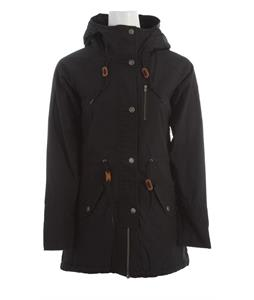 Holden Fishtail Parka Jacket Black