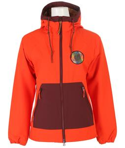 Holden Geneva Snowboard Jacket Tomato Orange/Port Royale