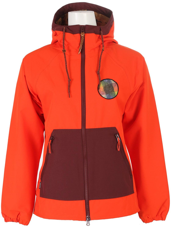 k2 darkstar snowboard fond orange