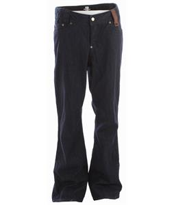 Holden Genuine Denim Snowboard Pants Blue Raw