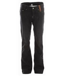 Holden Genuine Denim Skinny Snowboard Pants Black