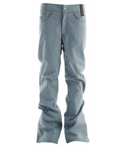 Holden Genuine Denim Skinny Snowboard Pants Dusty Blue