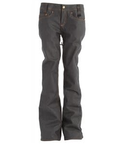 Holden Genuine Denim Skinny Snowboard Pants Raw Denim