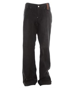Holden Genuine Denim Snowboard Pants Black