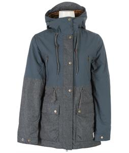 Holden Grace Snowboard Jacket Indigo Dots/Orion Blue
