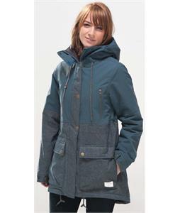 Holden Grace Snowboard Jacket Indigo Dots/Orion Blue