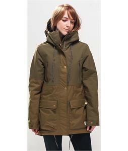 Holden Grace Snowboard Jacket Olive