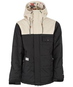Holden Hart Down Snowboard Jacket Black/Bone