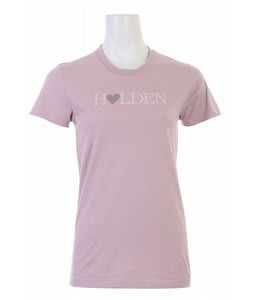 Holden Heart Logo T-Shirt Mauve