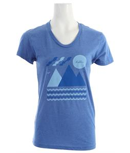 Holden Island T-Shirt Heather Lake Blue