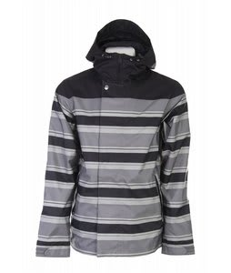 Holden Leeds Snowboard Jacket Black Stripe