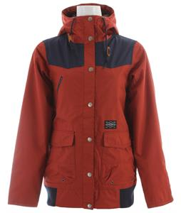 Holden Louisa Snowboard Jacket Burnt Henna/Navy