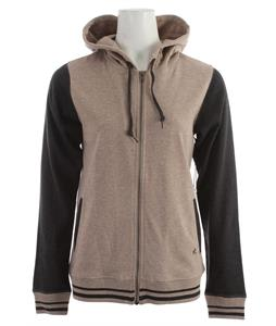 Holden Marty Zip Hoodie Heather Grey/Charcoal