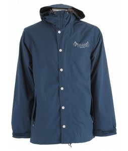 Holden Mcmillan Graphic Snowboard Jacket Thunderstorm Blue