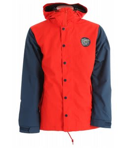 Holden Mcmillan Patch Snowboard Jacket Cardinal Red/Thunderstorm Blue