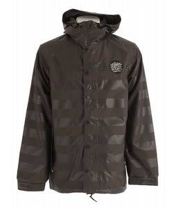 Holden Mcmillan Patch Snowboard Jacket Embossed Flint Stripe