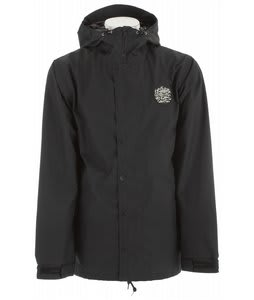 Holden Mcmillan Patch Snowboard Jacket Black