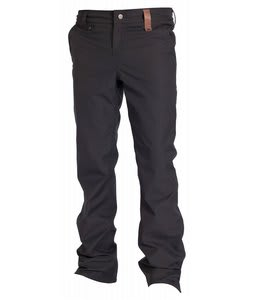 Holden Mountain Chino Skinny Snowboard Pants Black